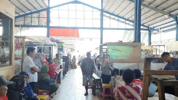 Polimdo Bantu Tingkatkan Kesejahteraan Perekonomian Pedagang Pasar Bersehati