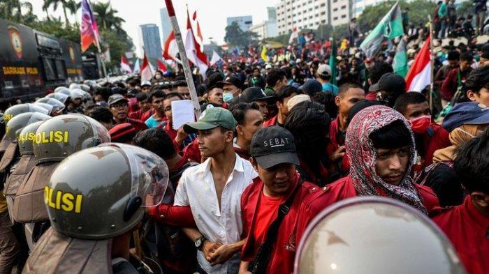 24 Mahasiswa dan 12 Pelajar Ditetapkan Polisi sebagai Tersangka Aksi Kerusuhan di Kompleks Senayan