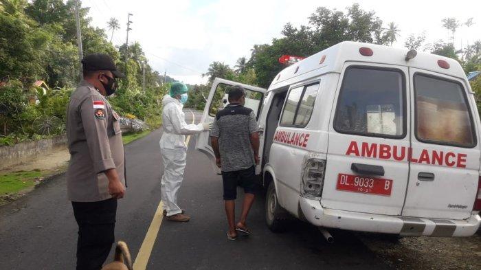 Pasien Diduga Terpapar Covid 19 Nekat Lari dari Puskesmas Beo Talaud, Dijemput TNI Polri