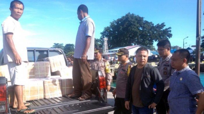 Polisi Kawal Ketat Pengiriman Surat Suara ke Talaud