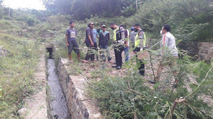 Kecelakaan Maut Pukul 13.30 WIB, Bapak Ibu dan Anak Bayinya Tewas, Motor Terjun ke Jurang 15 Meter