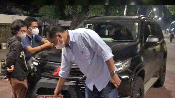 Ini Hasil Pemeriksaan Polisi Terhadap Mobil Pajero Bernopol Mirip Pelat Dinas TNI yang Ugal-ugalan