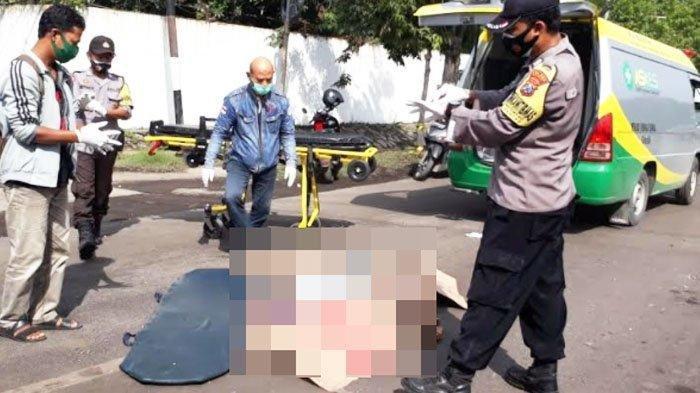 Kecelakaan Maut, Seorang Pengendara Motor Verza Tewas Dilindas Truk, Korban Terpeleset dan Terjatuh