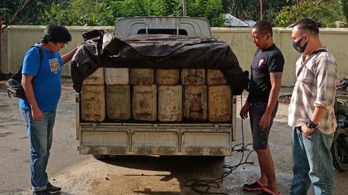Polres Bolmong Tangkap Pelaku Penimbunan BBM Ilegal