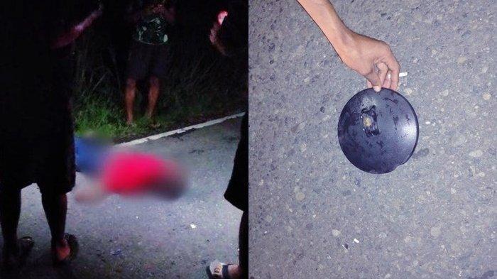 UPDATE, Warga Dulangon Lolak Tewas Tabrak Lari, Polisi: Korban Ditabrak dari Belakang