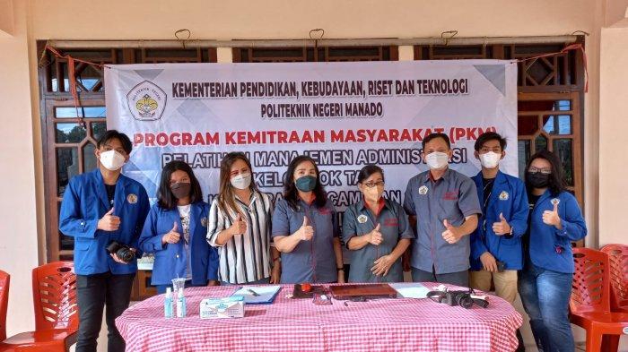 Tim PKM Polimdo Latih Kelompok Tani Amut di Sonder Kabupaten Minahasa