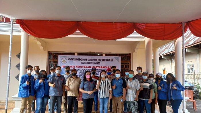 Politeknik Negeri Manado melakukan pelatihan Manajemen Administrasi, pada Kelompok Tani Amut di Desa Kauneran Satu, Kecamatan Sonder, Kabupaten Minahasa.