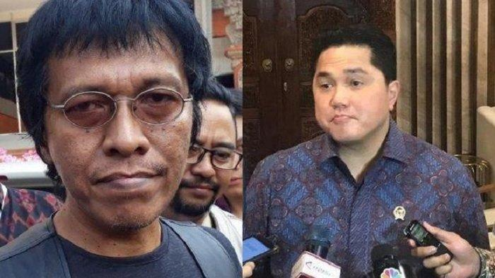 Orang Deklarasikan Erick Thohir Jadi Presiden Diangkat Jadi Komisaris BUMN,Adian Napitupulu Protes