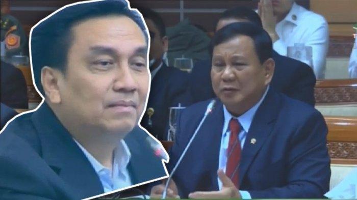 Effendi Simbolon: Menhan Prabowo Jujur Punya Kolega di PT TMI yang Bantu Kebutuhan Alpalhankam