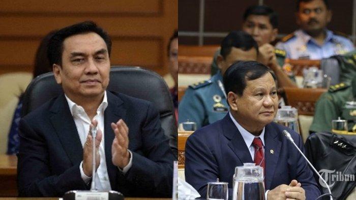 Politisi PDI-P Effendi Simbolon singgung Menteri Pertahanan Prabowo Subianto dalam Rapat Kerja dengan Komisi I DPR RI, Senin (31/5/2021).