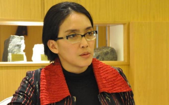 Politisi PDI Perjuangan, Rieke Diah Pitaloka.