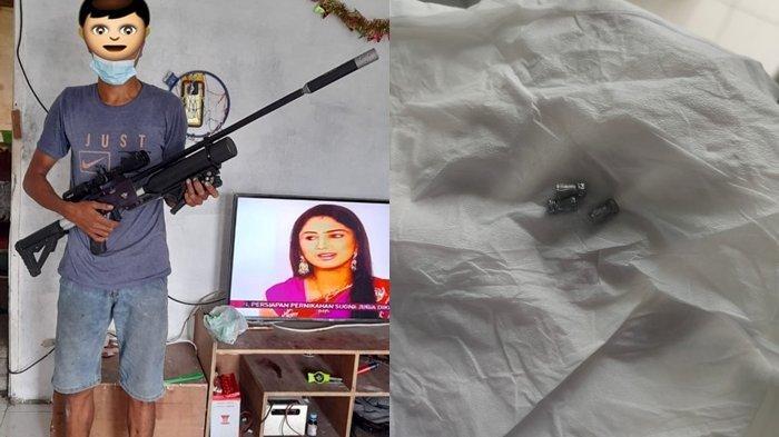 Polisi Ungkap 'Teror' Peluru Nyasar di Perumahan Sagerat Resident