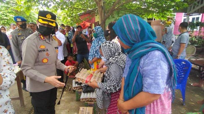 Polres Bolmong Tinjau Lokasi Kebakaran di Doloduo Induk, Beri Beragam Bantuan Kepada Para Korban