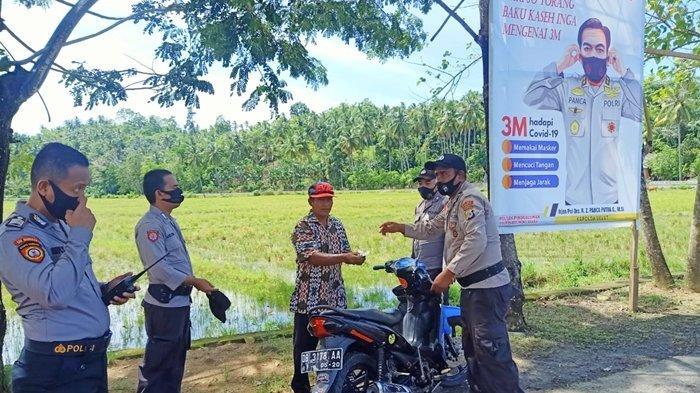 Polres Bolmut Jaga Ketat Pintu Masuk Perbatasan Bolmut-Gorontalo, Antisipasi Kelompok Teroris MIT