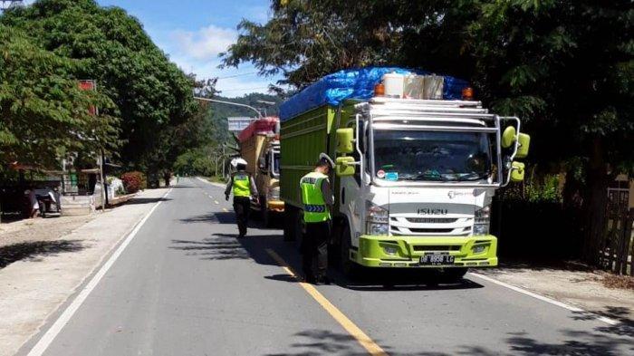 Operasi Patuh Samrat 2020,Ratusan Kendaraan Terjaring Razia Polres Bolmut