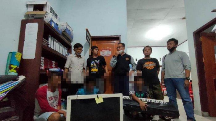 BREAKING NEWS: Komplotan Pelaku Pencurian Barang Elektronik Asal Salongo Dibekuk Polres Bolsel