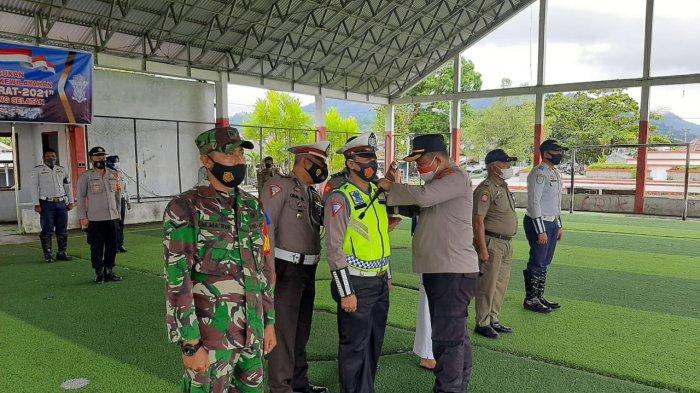 Mulai Hari Ini Polres Bolsel Gelar Pasukan Operasi Patuh Samrat 2021