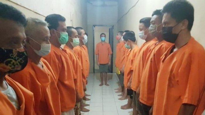 Polres Kotamobagu Rutin Cek Protokol Kesehatan Tahanan, Cegah Covid-19