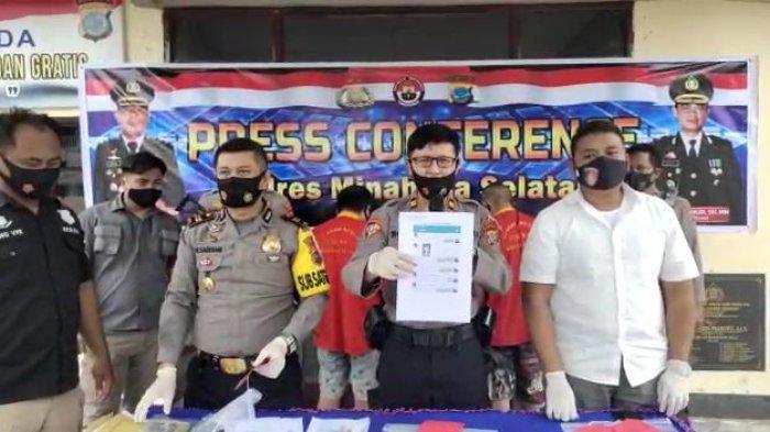 Polres Minsel Berhasil Bongkar Kasus Prostitusi Online di Wilayah Amurang