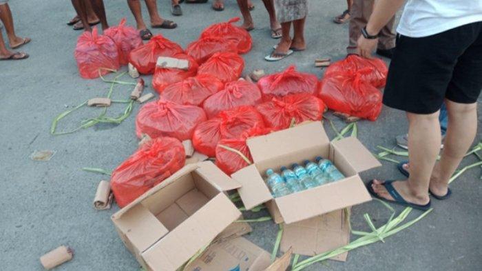 Polres Sangihe Temukan 100 Kg Sianida dan 213 Liter Cap Tikus saat Razia di Pelabuhan