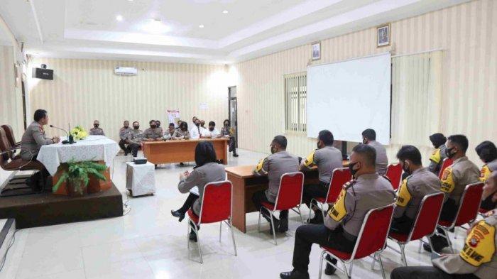 Polresta Manado Ingin Bangun Lingkungan Berpredikat Wilayah Bebas Korupsi dan WBBM