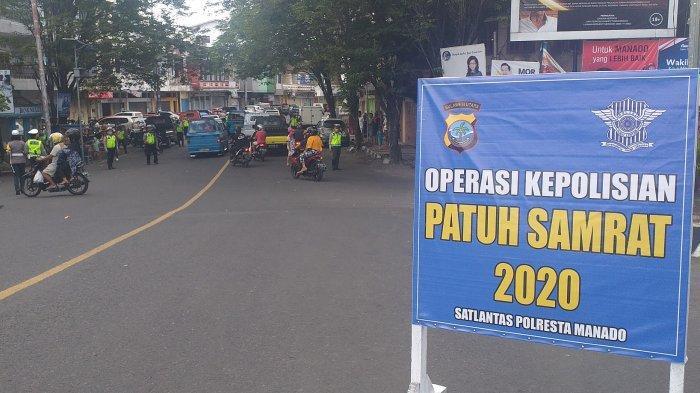 Operasi Patuh Samrat 2020 di Jembatan Megawati, Banyak Pengendara yang Terjaring