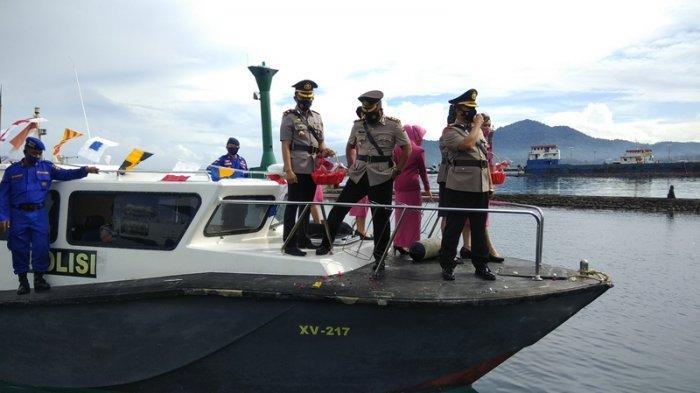 Polresta Manado Peringati HUT ke-75 Bhayangkara