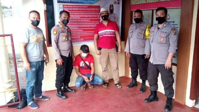 Pelaku KDRT di Langowan yang Viral di Media Sosial, Akhirnya Diamankan Polres Minahasa