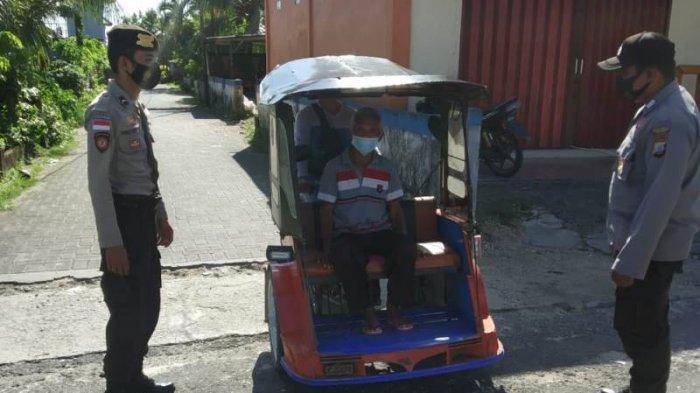 Polsek Lirung menggelar Patroli Pencegahan Penyebaran Covid 19 di wilayah hukumnya, Rabu, (2/6/2021).