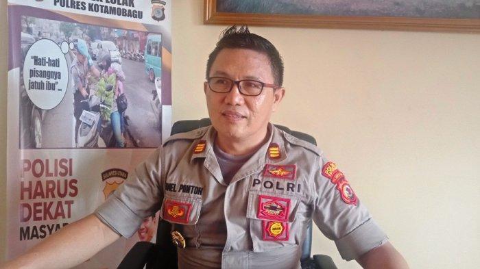 Polsek Lolak Police Line Perusahaan Tambang Besi