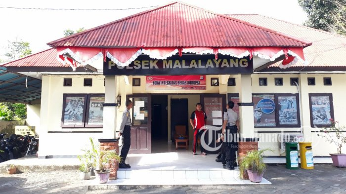 Laksanakan Operasi KRYD, Polsek Malalayang Kota Manado Tertibkan Pesta Miras