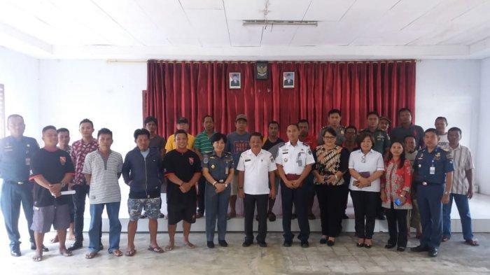 Polsek Tombariri Mediasi Tasik Ria Resort dan Nelayan Desa Tambala Juga Borgo