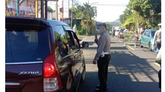 Gelar Operasi Yustisi, Polsek Tomohon Tengah Jaring 9 Warga Tak Pakai Masker
