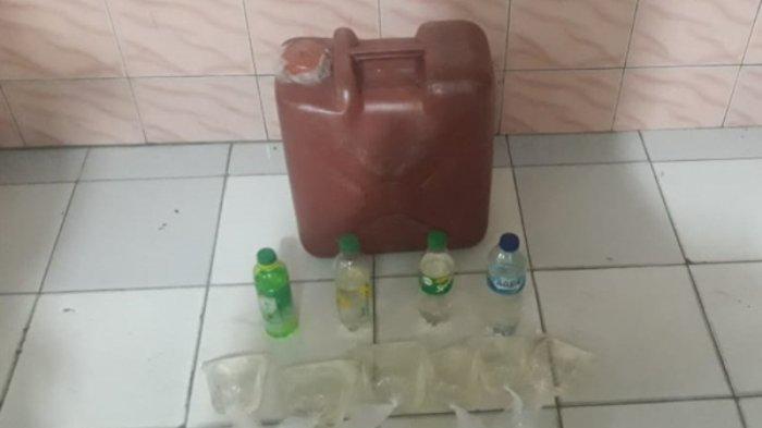 Polsek Wanea Amankan Puluhan Liter Cap Tikus Dalam Operasi KRYD