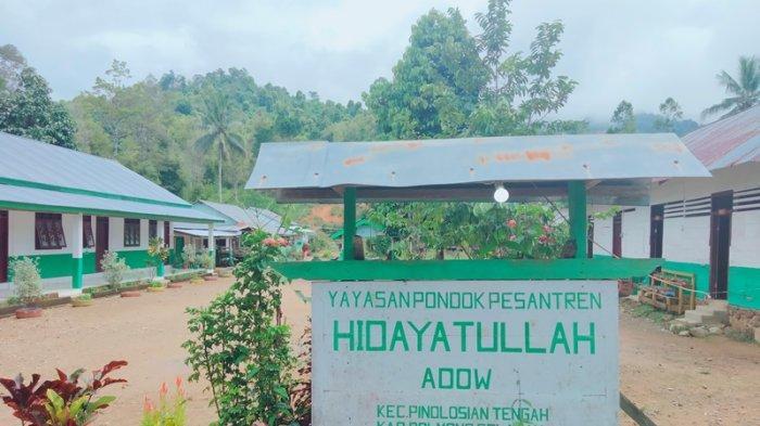 Ponpes Cabang Hidayatullah di Desa Adow Bolsel, Selain Santri Terdapat Panti Asuhan