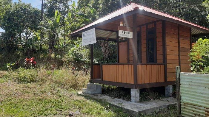 Pos Pengawasan Lalu Lintas Hewan di Kelurahan Pangolombian Tomohon Belum Difungsikan