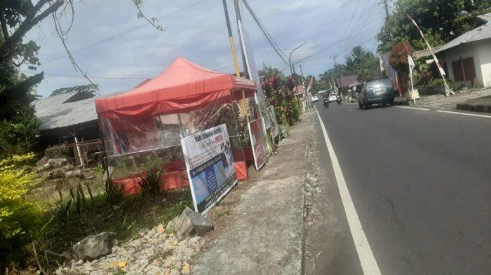 Sebagian Posko Satgas Penanganan Covid-19 Kelurahan di Kota Tomohon Mulai Tak Difungsikan