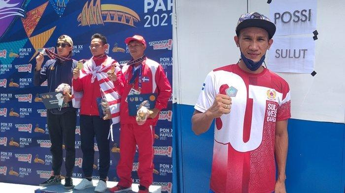 Lagi, Peselam Miki Wowor Sumbang Medali untuk Sulut di PON Papua, Perunggu 6000 M Fin Swimming