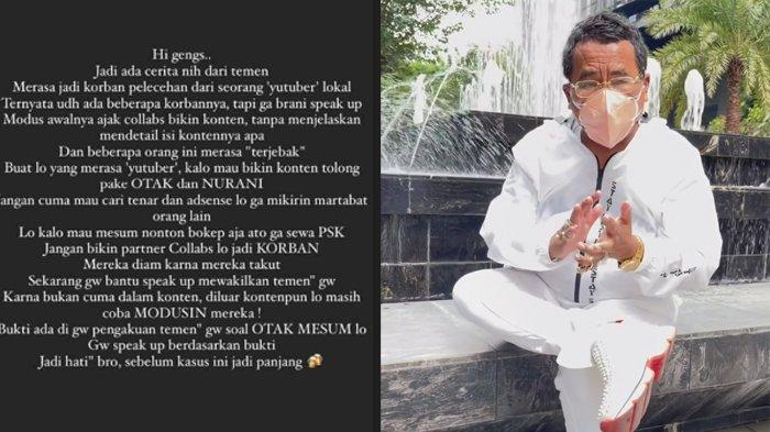 Viral Seorang Oknum YouTuber Manado Diduga Lakukan Pelecehan, Hotman Paris Minta Kapolda Sulut Usut