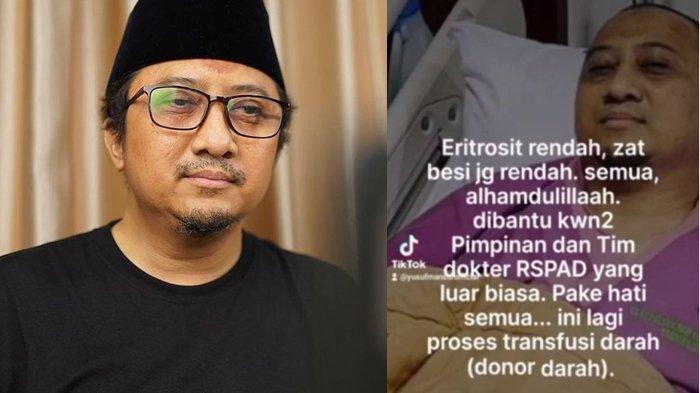 Hemoglobin Rendah Kondisi Ustaz Yusuf Mansur Drop, Hafiz Quran Dunia Siap Sumbangkan Darahnya