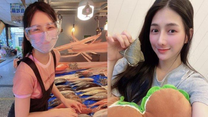 Potret Cantik Gadis Viral Jualan Ikan di Pasar, Nasib Langsung Berubah, Beredar Dikencani Pria Tajir