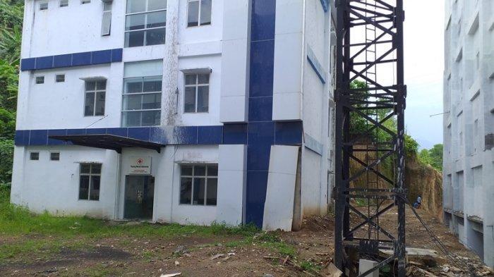 Potret Gedung PMI Kota Manado saat ini