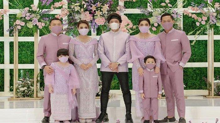 Potret keluarga Anang Hermansyah