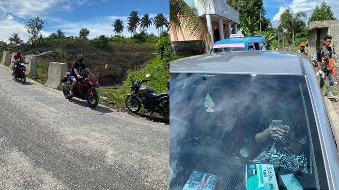 Dampak Blasting Jalan Tol Manado Bitung, Kaca Mobil Warga Pecah dan Retak