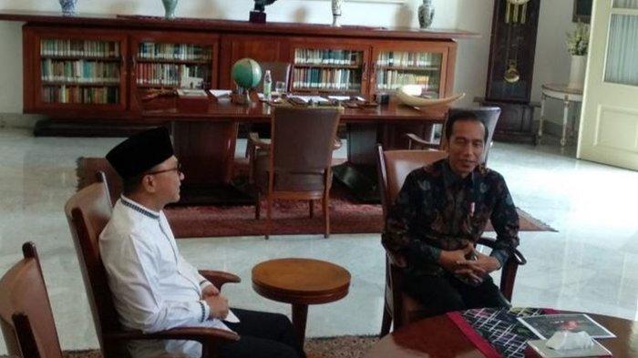 Kenapa Presiden Jokowi Undang PAN ke Istana dan Bukan PSI?