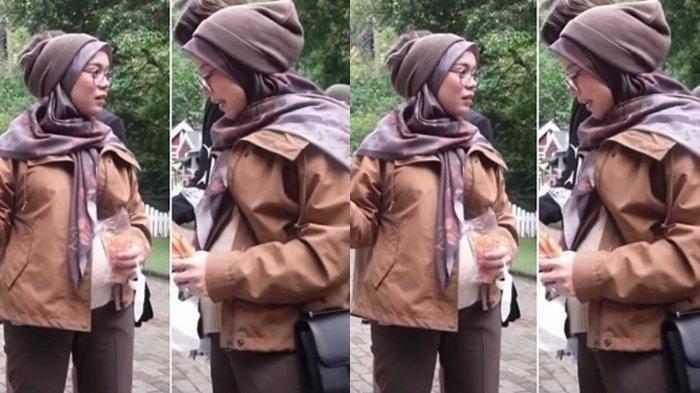 Potret Lesty Kejora dengan Perut Buncit, Perlihatkan Leslar Junior, Kejanggalan Nikah Siri Mencuat
