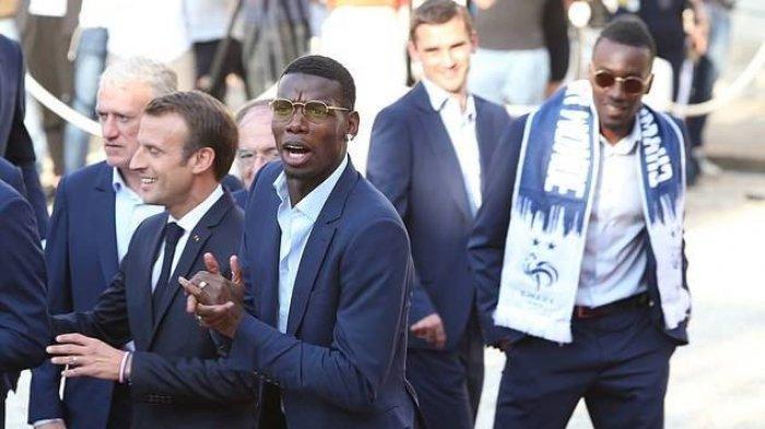 Paul Pogba Geram Dikabarkan Pensiun dari Timnas Prancis Gara-gara Hinaan Presiden Macron