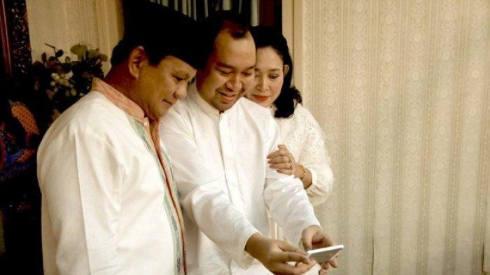 Potret Prabowo Subianto bersama sang mantan istri Titiek Soeharto dan anaknya Didit Hediprasetyo.