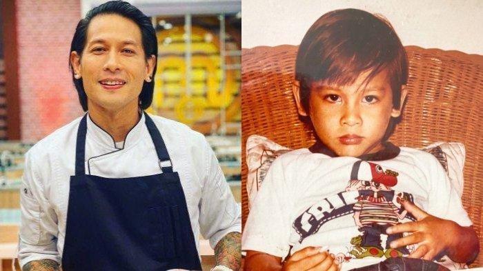 Pantas Ganteng di Usia 46 Tahun, Potret Transformasi Chef Juna, Paras Tampannya Terlihat Sejak Kecil