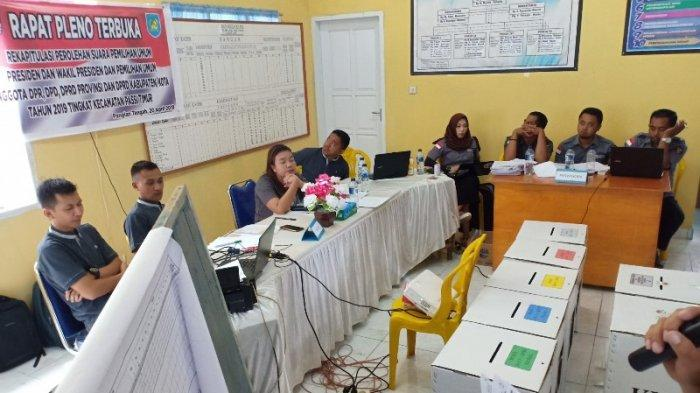 PPK Kecamatan Passi Timur Mulai Lakukan Rapat Pleno Terbuka